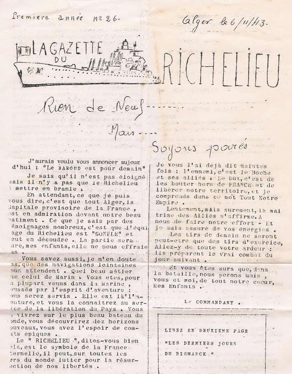 [Les batiments de ligne] RICHELIEU ET JEAN BART - TOME 2 - Page 38 G13