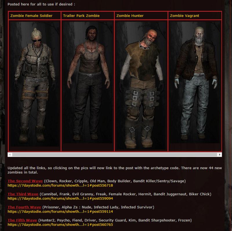 Ajout de nouveau zombie en preparation :!!! Swat_a14