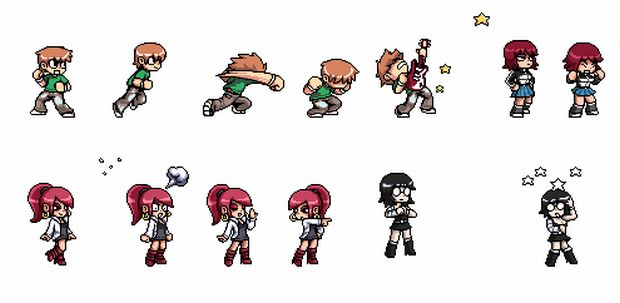Scott Pilgrim VS The World Sprites 18139810