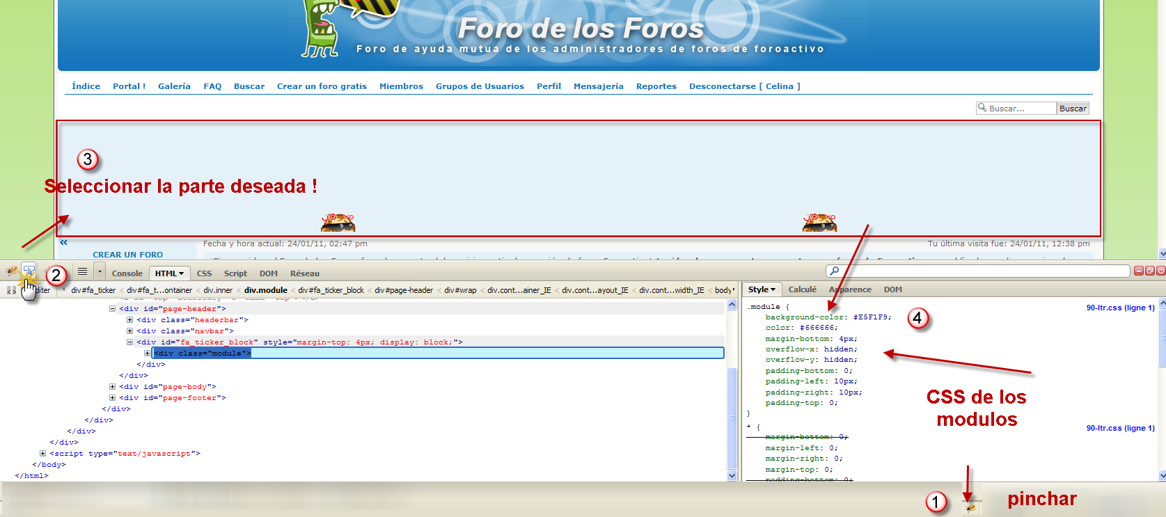 ASTUCIA : FORMACIÓN PARA UTILIZAR CODIGOS CSS  Css_ff11