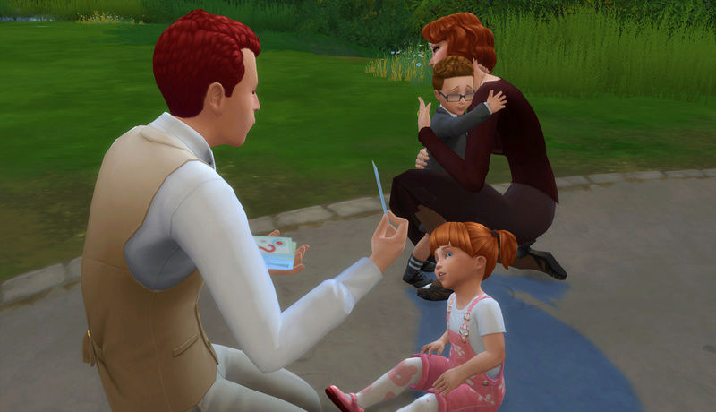 Toddler Mania Challenge Sims 4 by EQ 01-15-10