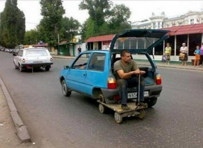 """Images drôles et insolites """"thème automobile"""" Roue_d11"""