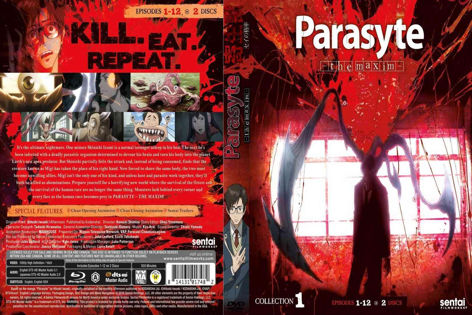 Caratula-COVER | Parasyte en DVD COMPLETA Parasy11