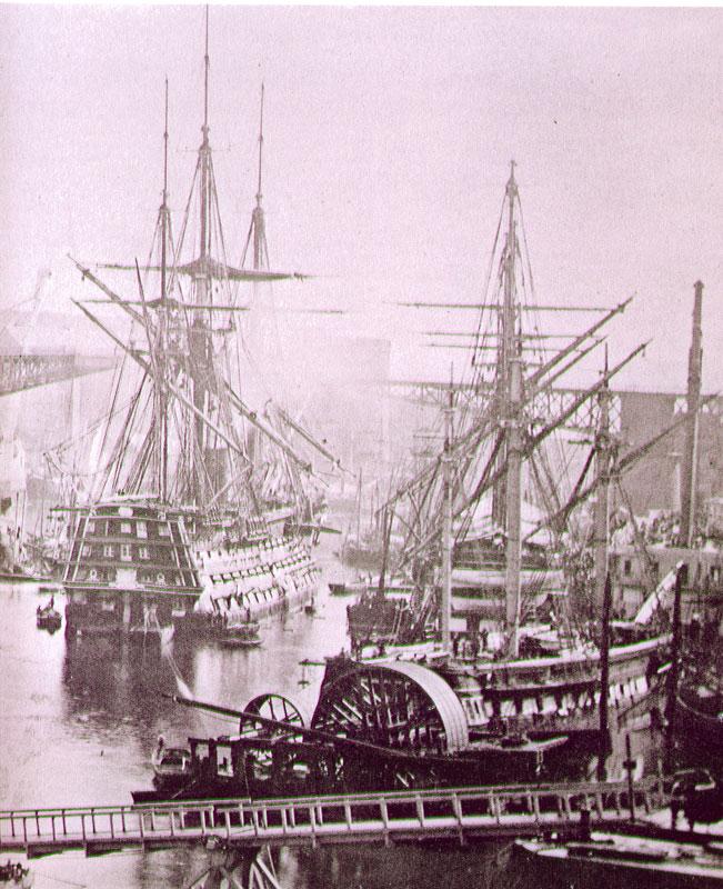 Vues du port de Brest Brest-10