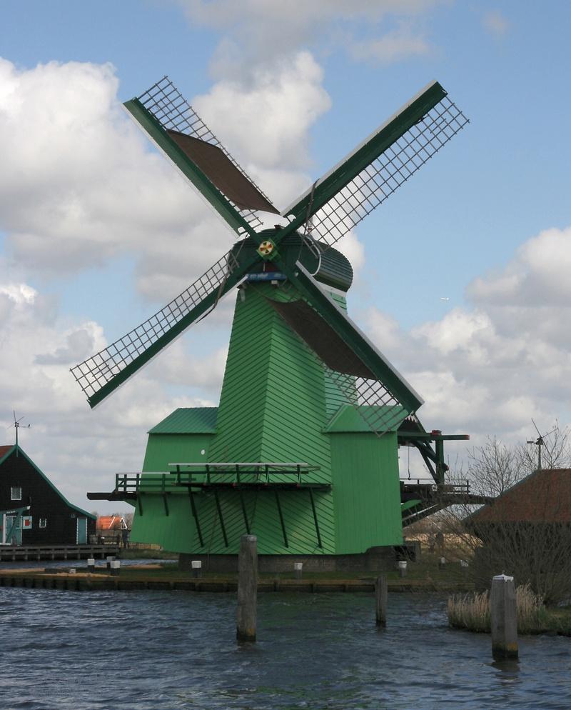 Paltrok : moulin à vent hollandais pour scier des bordages Zaanse10