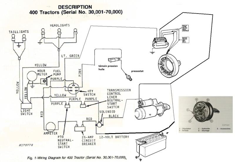 branchement contacteur clef avec regulateur. Black Bedroom Furniture Sets. Home Design Ideas