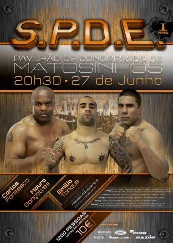 GRUPO SUPERSTAR no Pav Congresso de Matosinhos faz produção televisiva da gala MMA SPDE Cartaz10