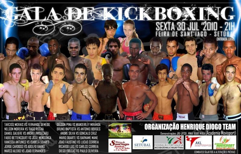 Dia 30 de Julho - Setúbal - Gala de Kickboxing Cartaz11