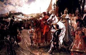 معاهدة تسليم غرناطة Boabdi12