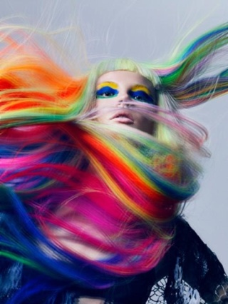 [Cheveux] Cheveux rainbow 37472510