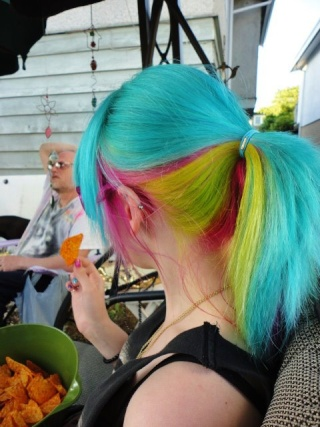 [Cheveux] Cheveux rainbow 40169910