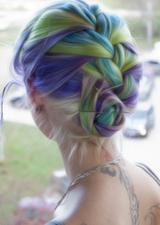 [Cheveux] Cheveux rainbow Tumblr13