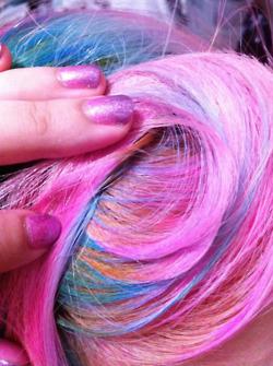 [Cheveux] Cheveux rainbow Tumblr23