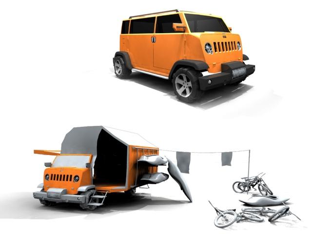 Le Jeep più strane dal mondo, prototipi, versioni uniche e rarità......postiamole quà!!! 44810