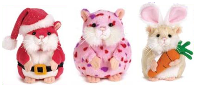 New Mazin Hamsters Series 2 and Seasonal (Coming Soon) Holida10