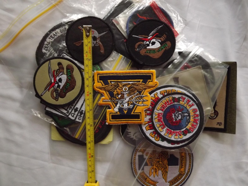 My Navy SEAL patch collection Old_st12