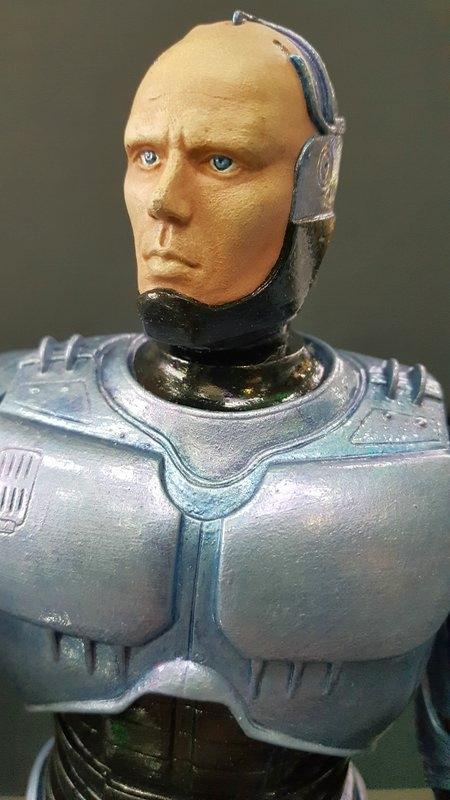 Robocop 1 und Robocop 3 mit Flightpack 1:6 Horizon Comp_251