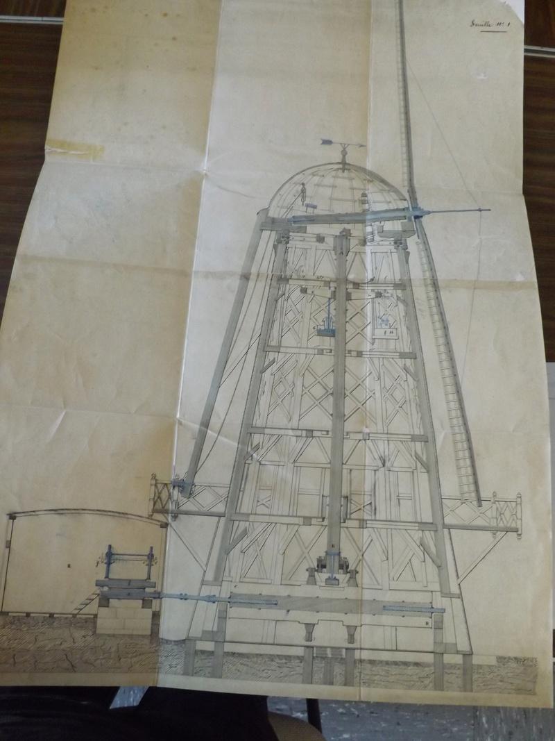 Paltrok : moulin à vent hollandais pour scier des bordages Dscf2012