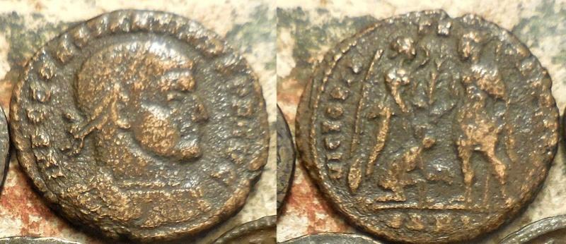 Un follis inédit de Constantin Ier, revers avec Victoire et empereur Follis12