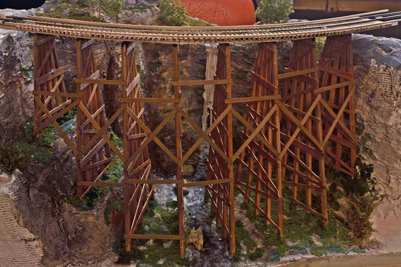Amerikanische Holzbrücke Trestl10