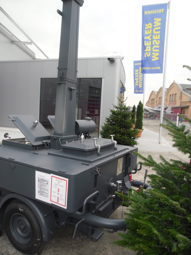 Gulaschkanone im Technikmuseum Speyer. Sam_0521