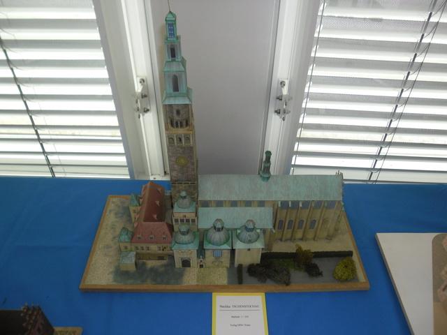 Kartonmodellbauer im Technoseum Mannheim. Sam_0927