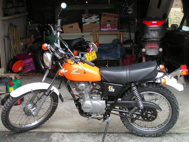 Honda 125 XL Pict0010