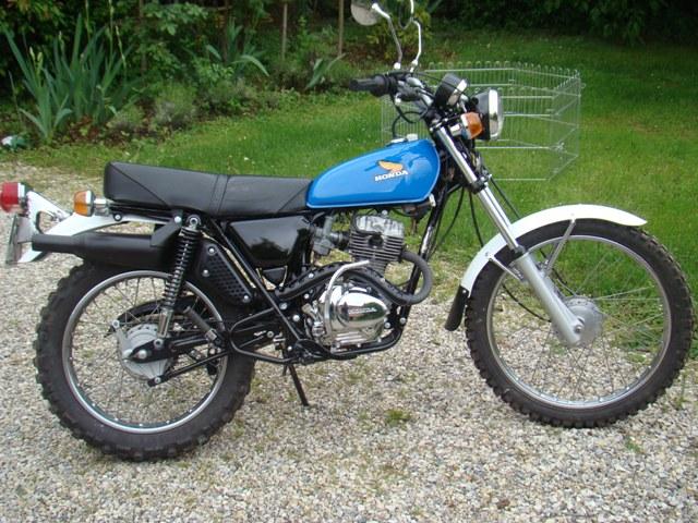 Honda 125 XL Restau10