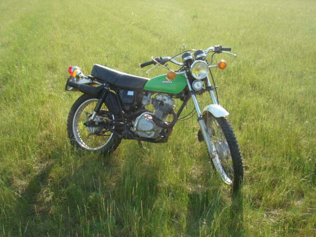 Honda 125 XL Rucher10