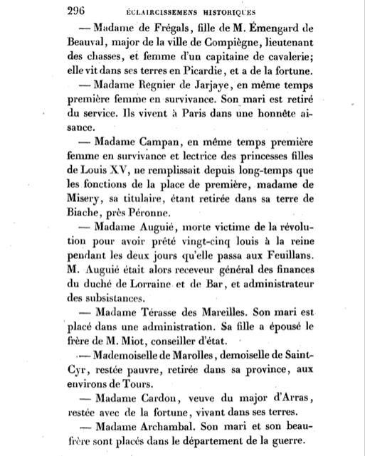 Maison et dames du Palais de la reine Marie-Antoinette - Page 7 Captur18