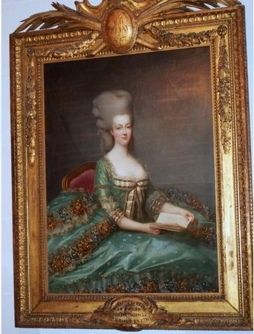 """Exposition """"Marie-Antoinette"""" de 1955 Captur77"""