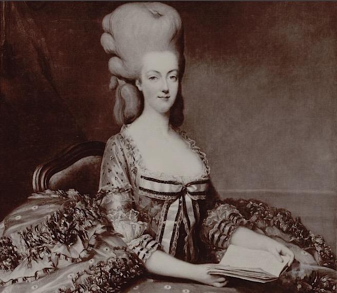 "Exposition ""Marie-Antoinette"" de 1955 Marie_12"