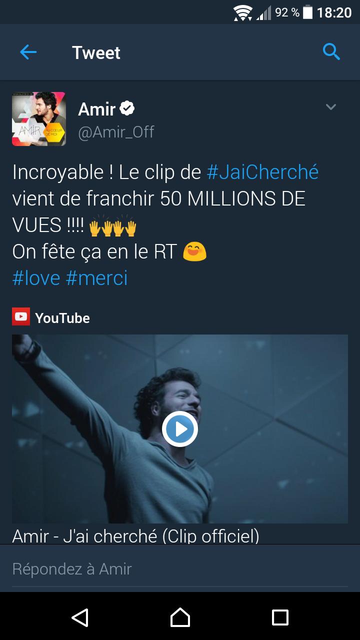 """Clip """"J'ai Cherché"""" 50 MILLIONS DE VUE Screen10"""