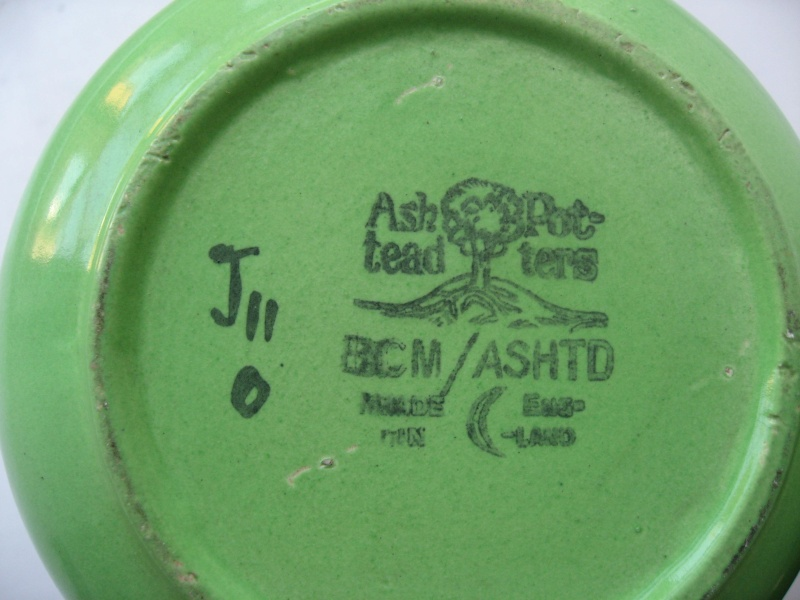Anybody have any information on Ashstead pottery? Img_1315