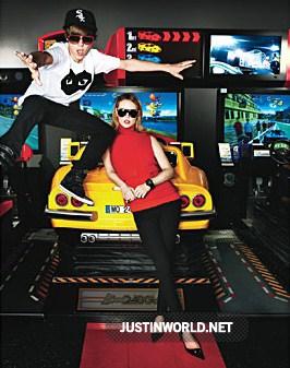"""Justin pose pour """"glamour magazine"""" 3110"""