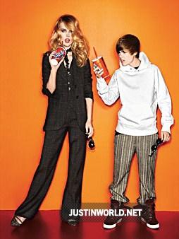 """Justin pose pour """"glamour magazine"""" 4110"""