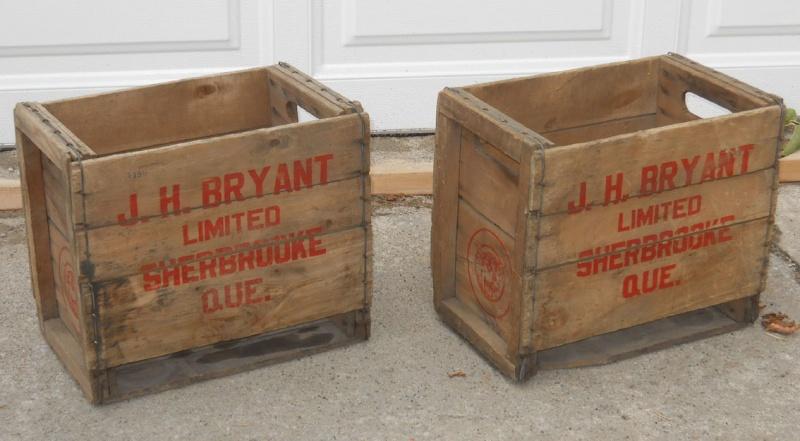 2 caisses en bois J. H. Bryant de Sherbrooke, PQ 2bryan10