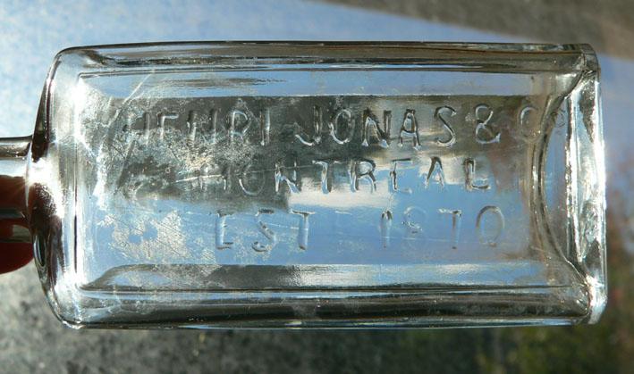 """2 petites bouteille BIMAL """"Henri Jonas & Co."""" 2jonas12"""