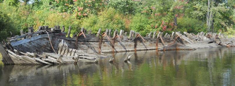 L'épave du ruisseau du Lac Leamy à Hull (Gatineau) Apave110