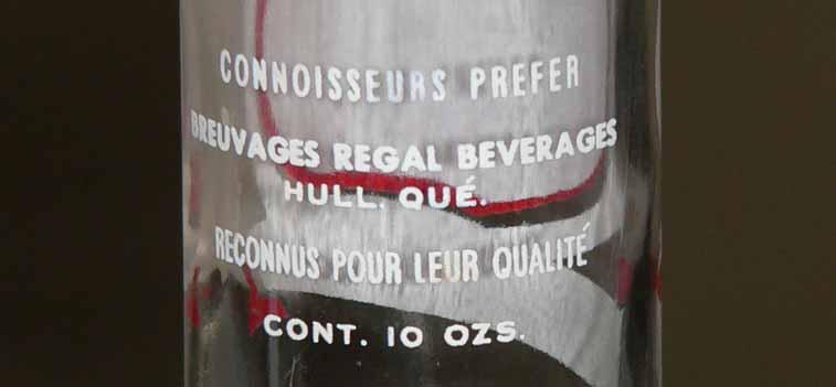Breuvages REGAL - Hull, Québec Regal114