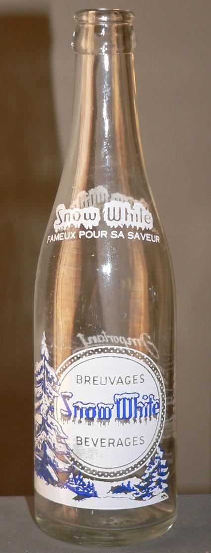 """Bouteille de liqueur ACL """"Snow White"""" - 12oz de St-Jérôme, Québec Xsnoww10"""