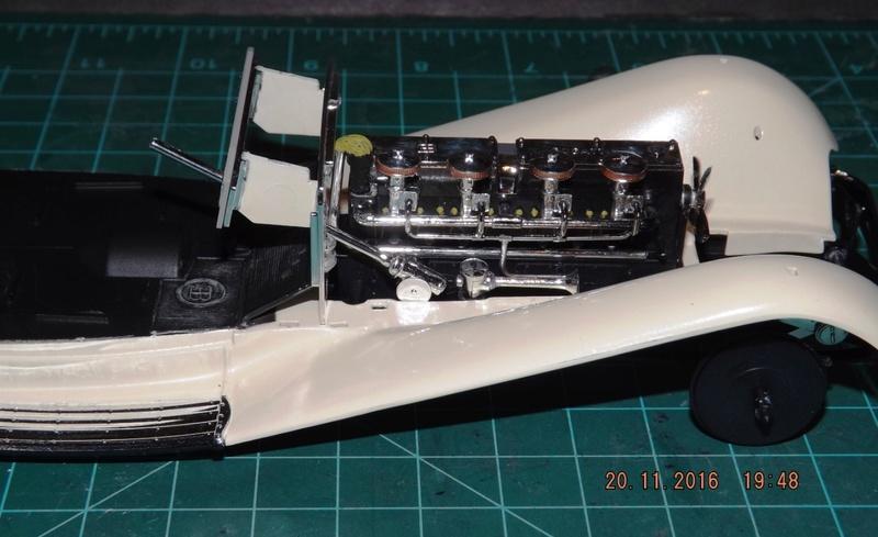 Bugatti Royal Victoria 1931 de Revell 1/24 Dscf6823