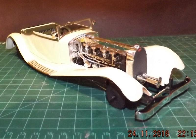 Bugatti Royal Victoria 1931 de Revell 1/24 Dscf6832