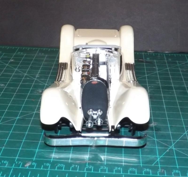 Bugatti Royal Victoria 1931 de Revell 1/24 Dscf6834