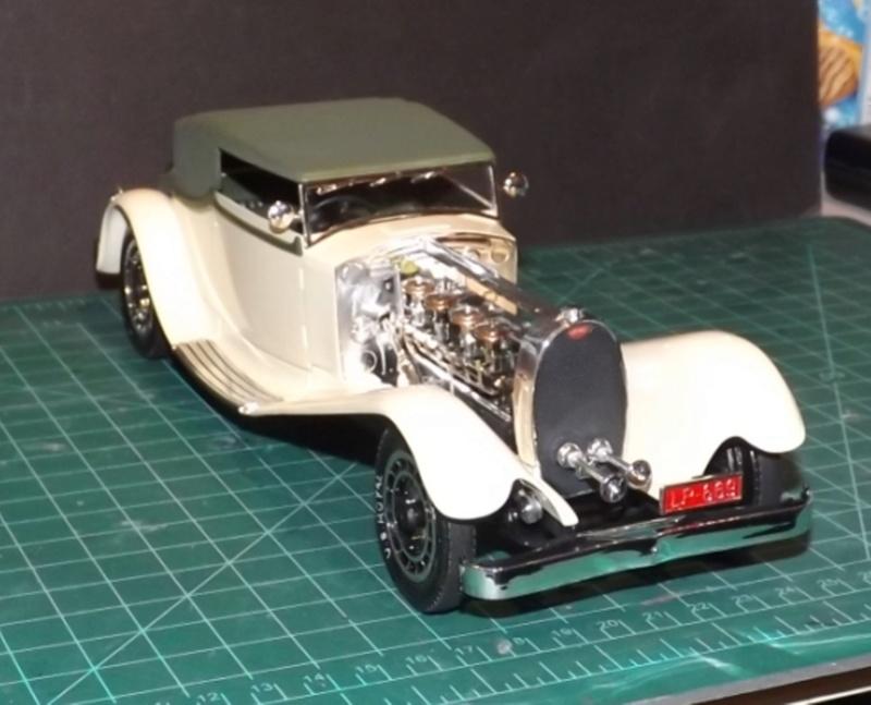 Bugatti Royal Victoria 1931 de Revell 1/24 Dscf6913