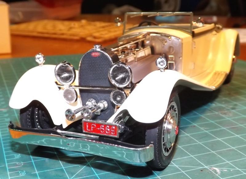 Bugatti Royal Victoria 1931 de Revell 1/24 Dscf6915