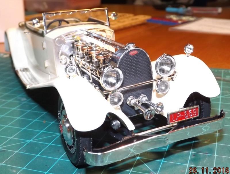 Bugatti Royal Victoria 1931 de Revell 1/24 Dscf6917