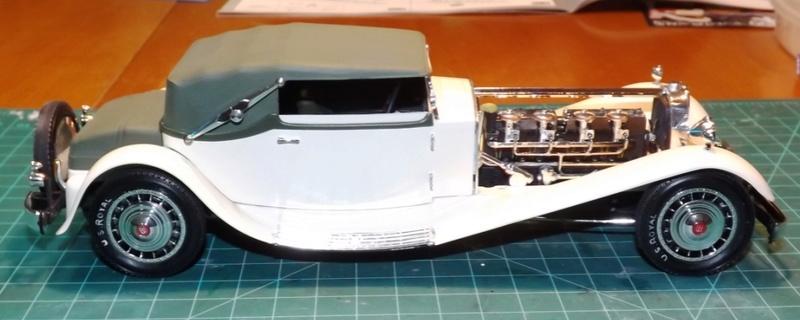 Bugatti Royal Victoria 1931 de Revell 1/24 Dscf6920