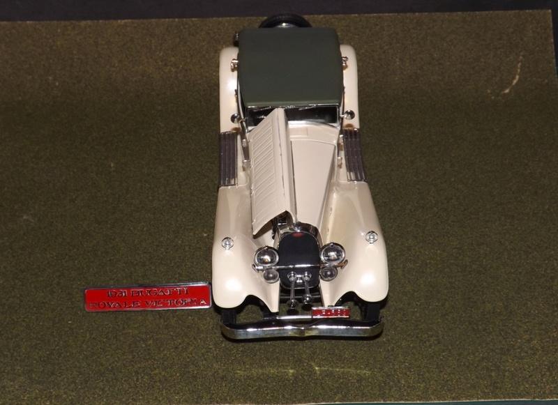 Bugatti Royal Victoria 1931 de Revell 1/24 Dscf6922