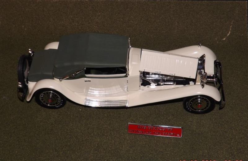 Bugatti Royal Victoria 1931 de Revell 1/24 Dscf6926